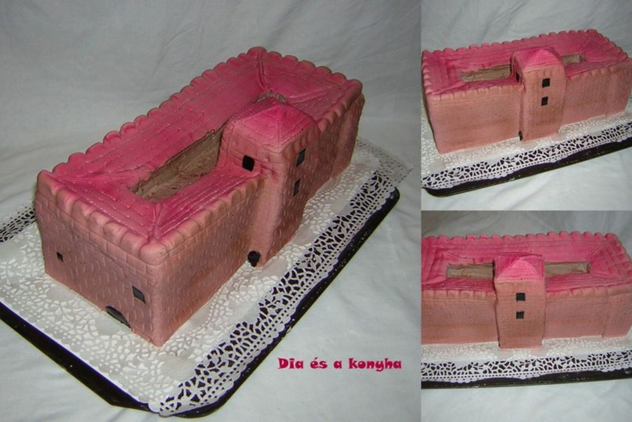 Gyula Castle Cake on Cake Central