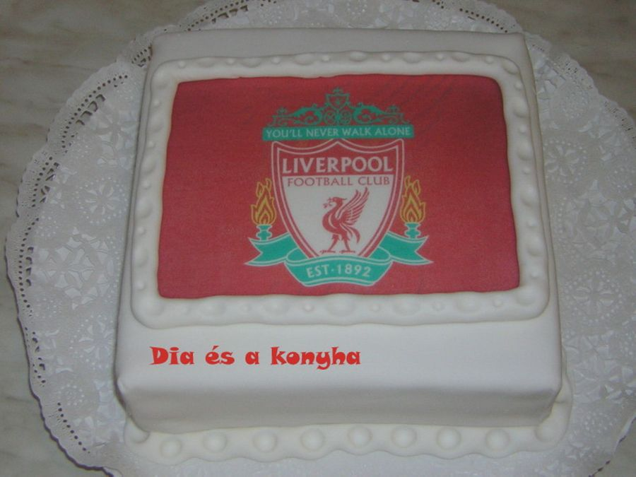 Liverpool Logo Cake on Cake Central