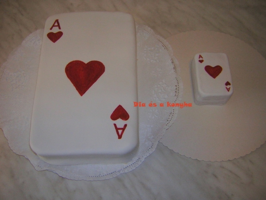 Ace Card Cake on Cake Central