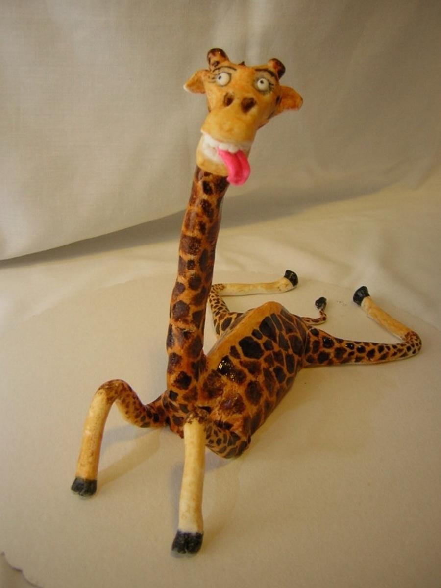 Marzipan Giraffe Melman Cakecentral Com