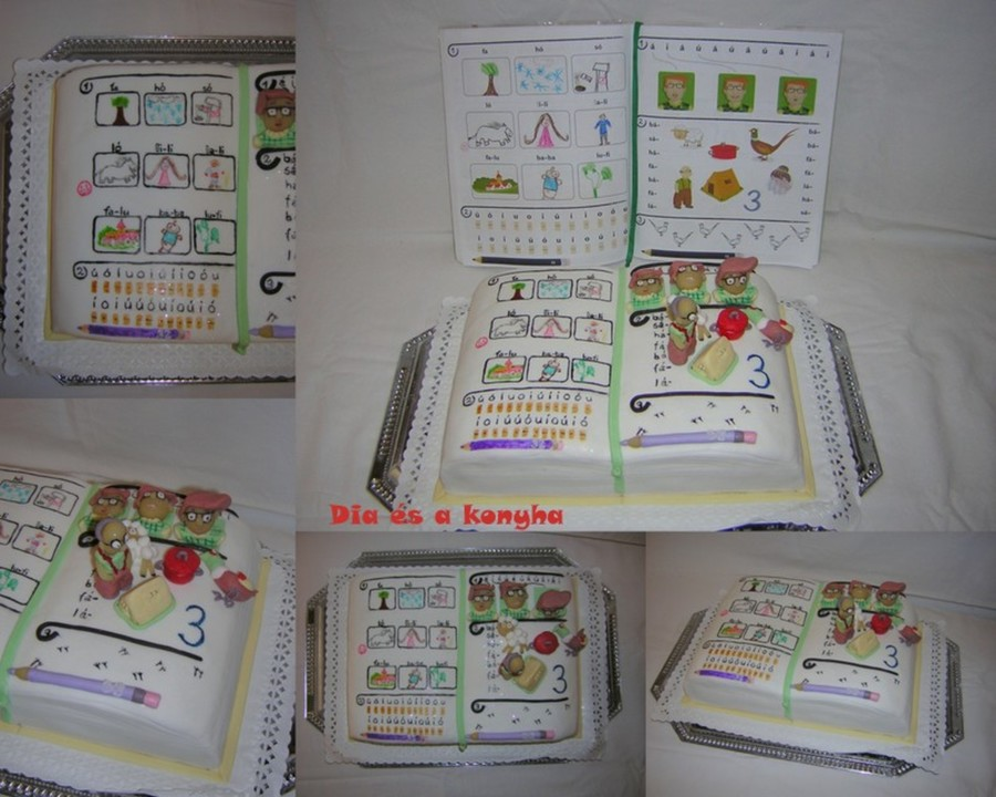 School Book Cake on Cake Central