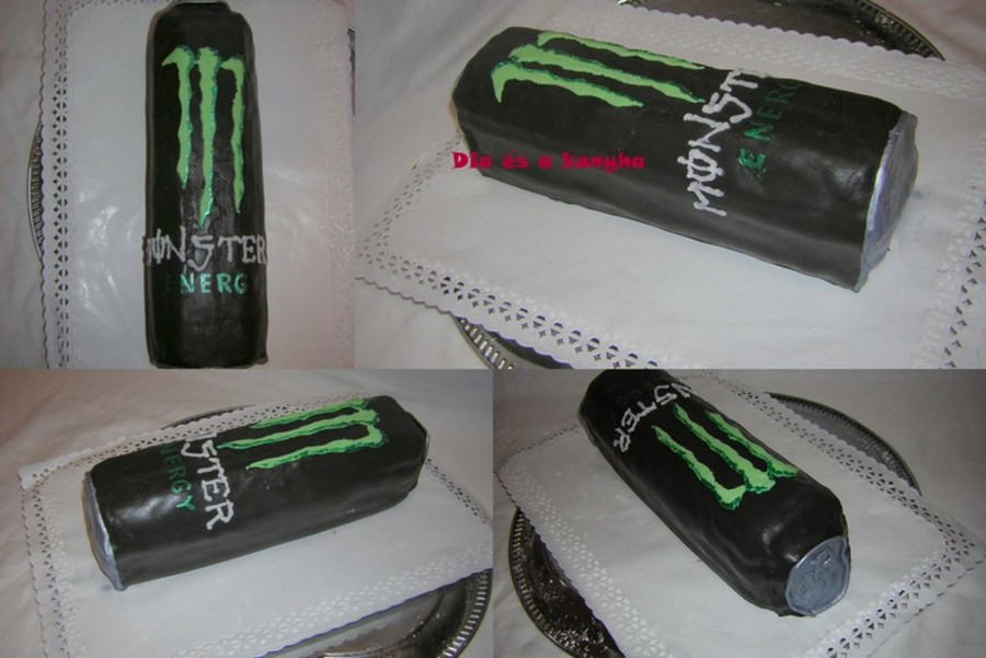 Monster Energy Cake on Cake Central