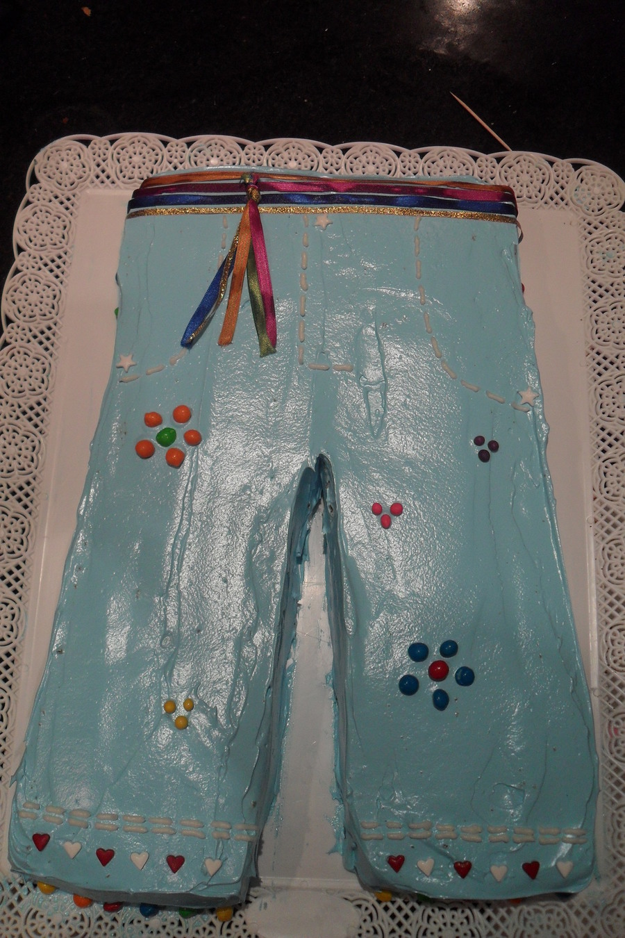 Hippie Jean Cake on Cake Central