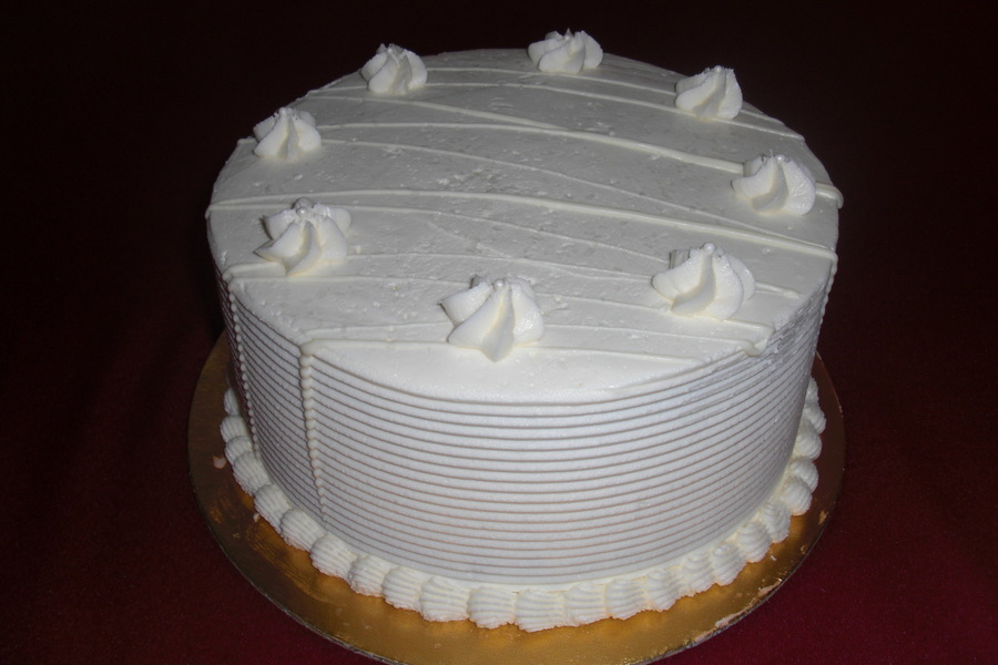 White Chocolate Cake on Cake Central