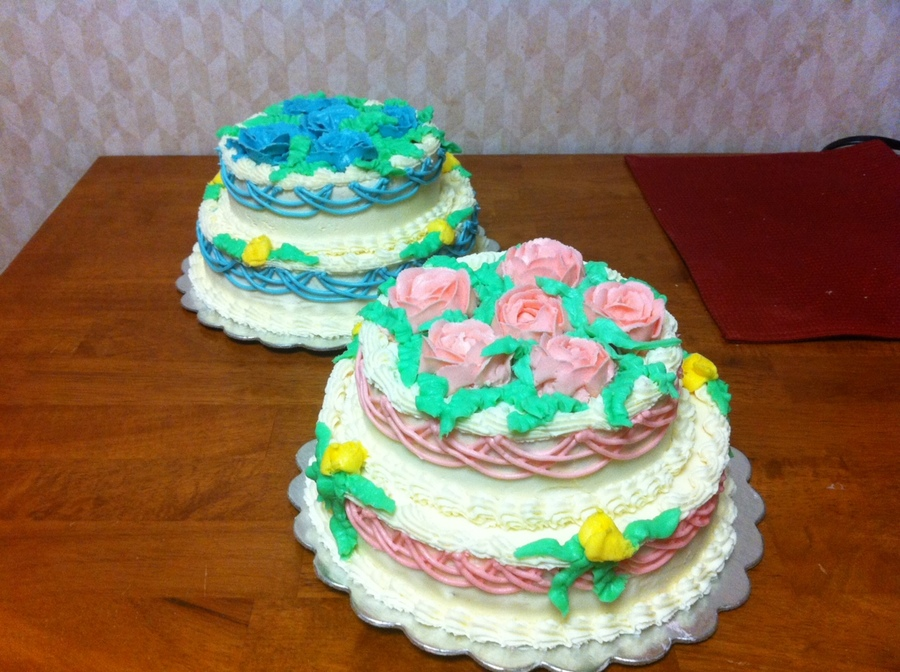 His And Hers Dualing Cakes on Cake Central