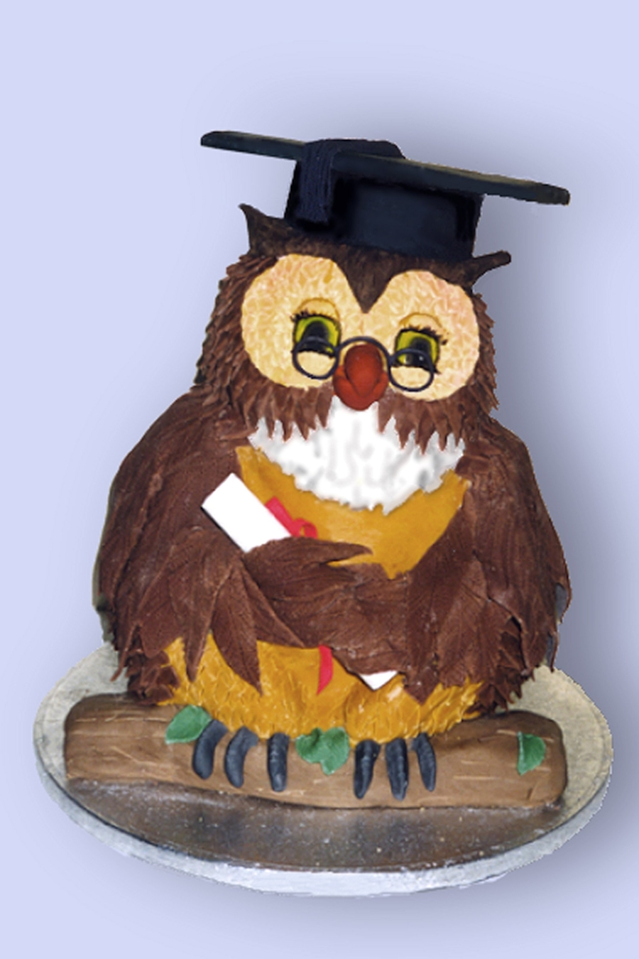 Wise Owl on Cake Central