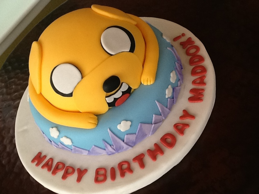 Adventure Time Themed Cake on Cake Central