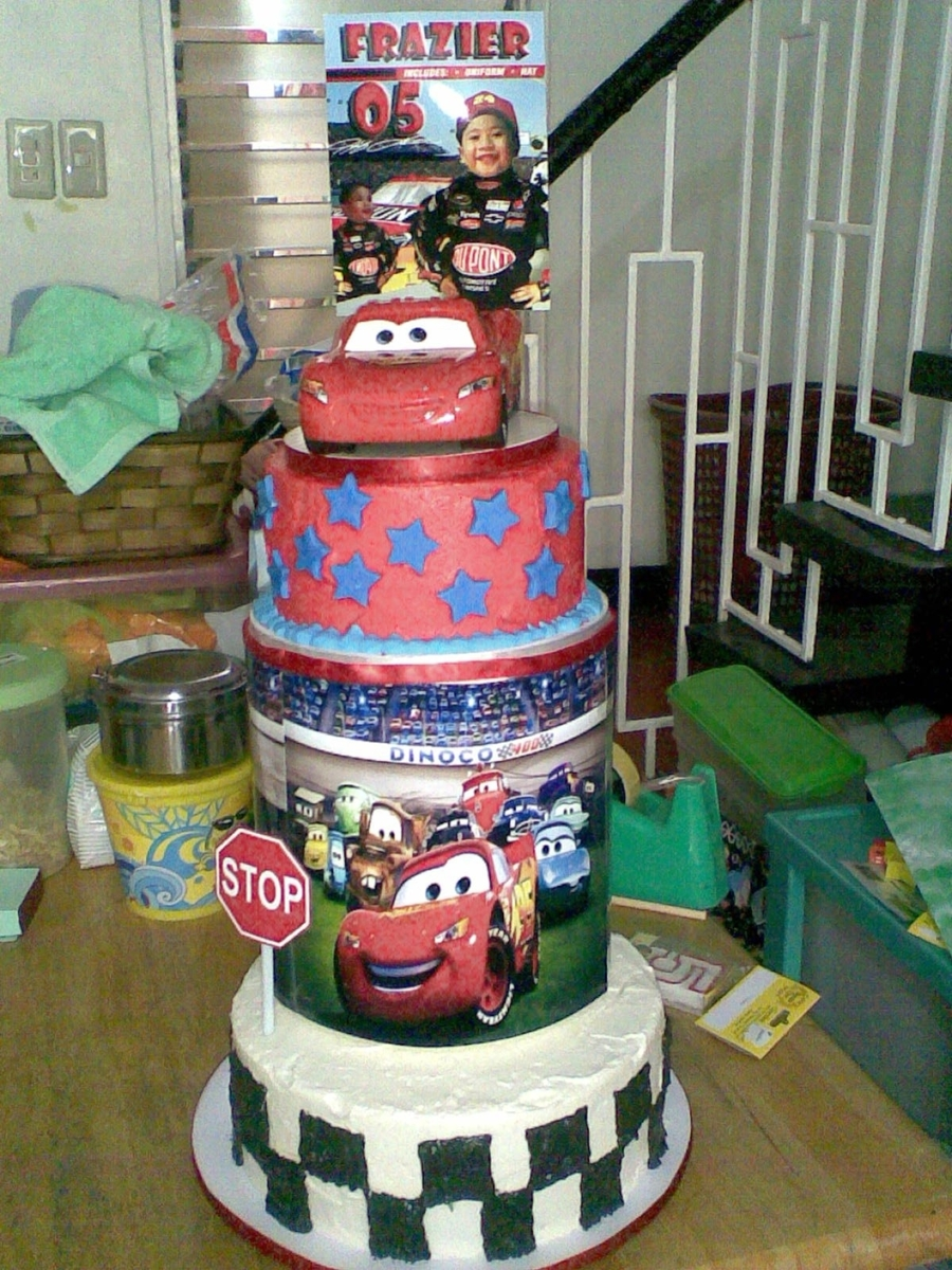 Cars Pixar Birthday Cake Cakecentral
