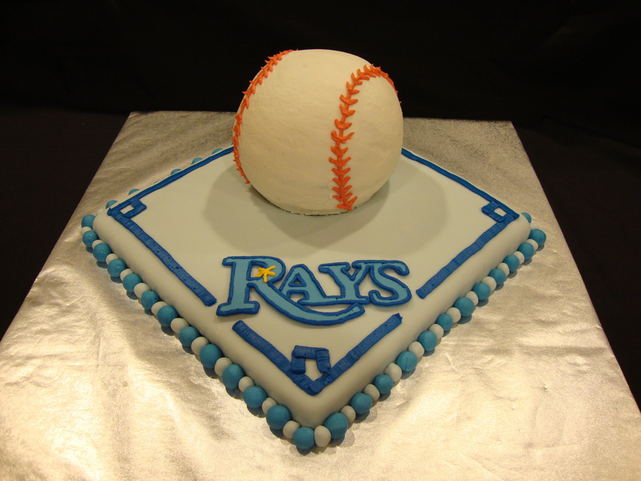 Tampa Bay Rays Cake on Cake Central