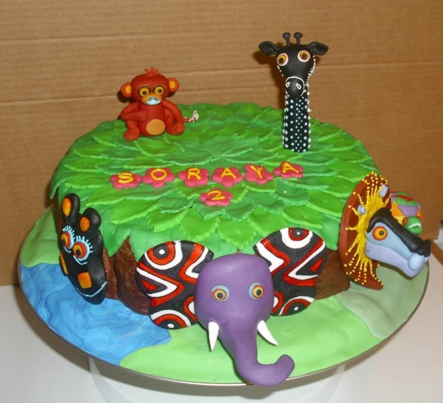 Tinga Tinga Tales Cake Cakecentral Com