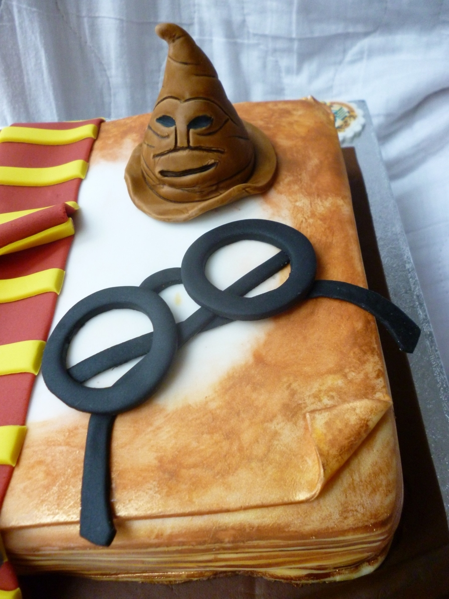 Harry Potter 18th Birthday Cake Cakecentral Com