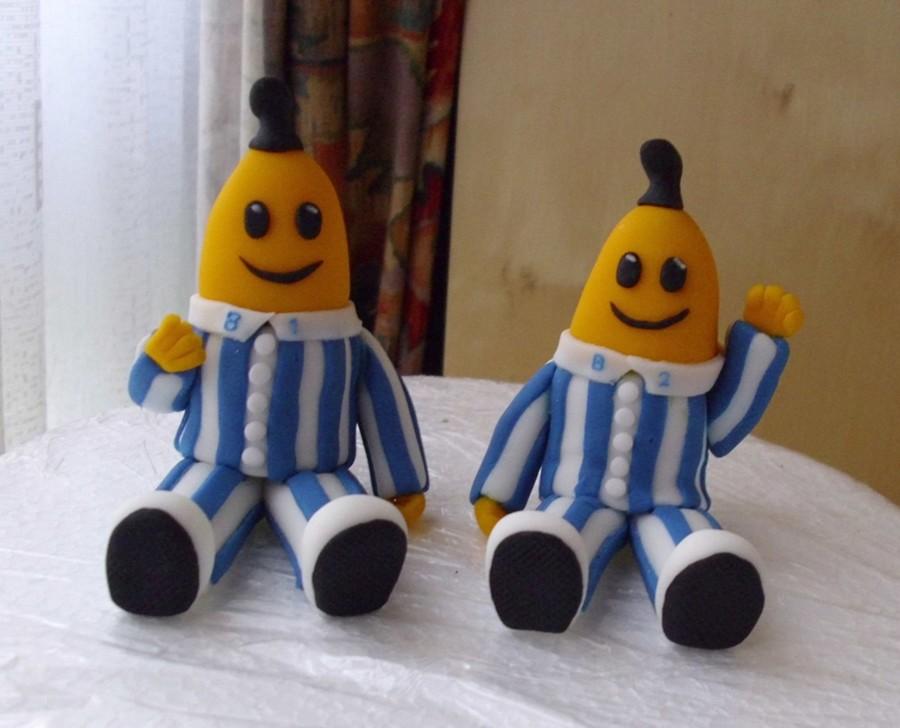 Bananas In Pyjamas Cake Toppers - CakeCentral.com