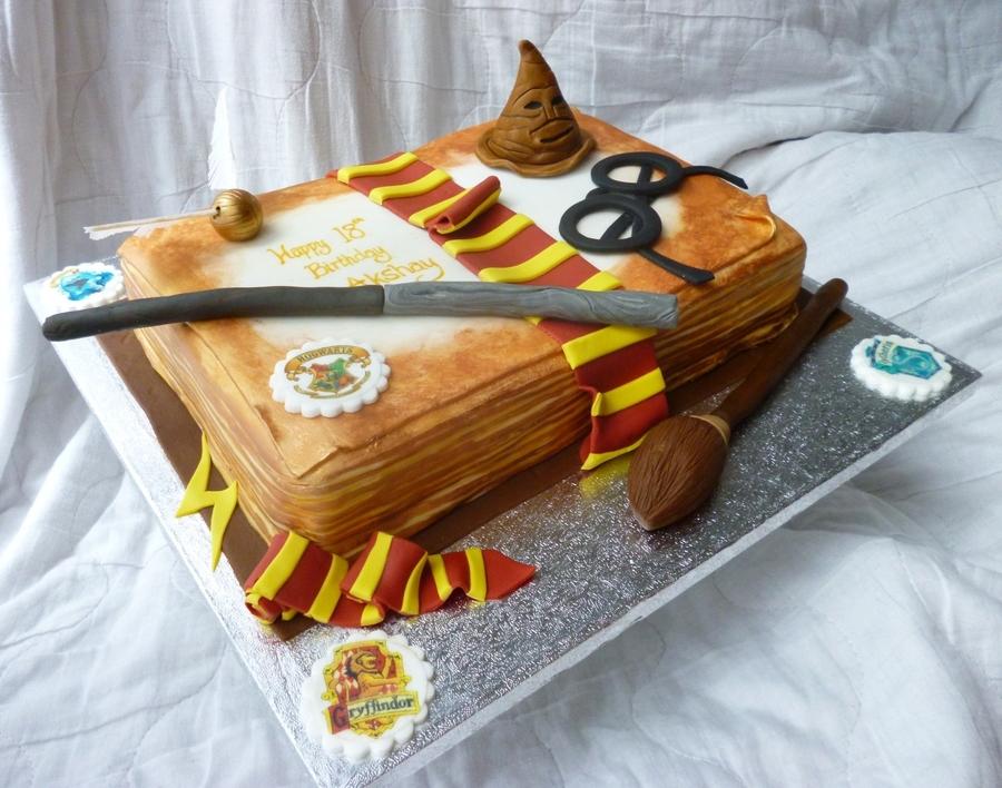 Harry Potter Th Birthday Cake Recipe