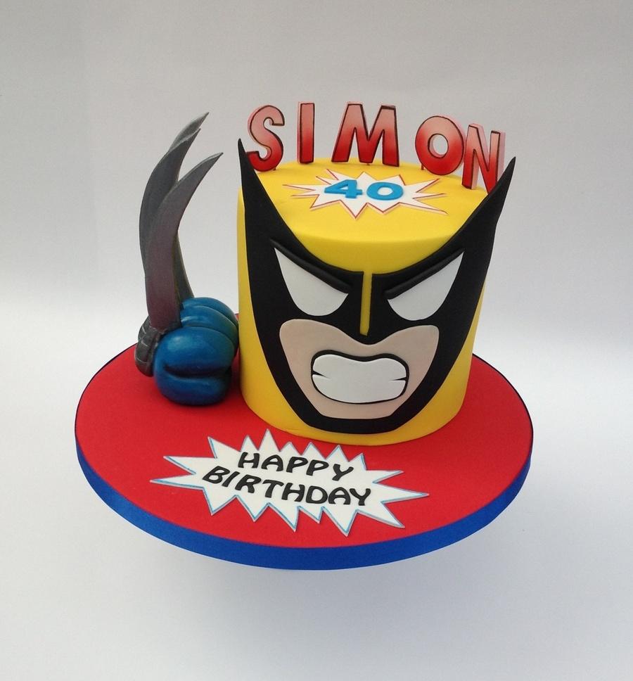 Wolverine Birthday Cake Pics