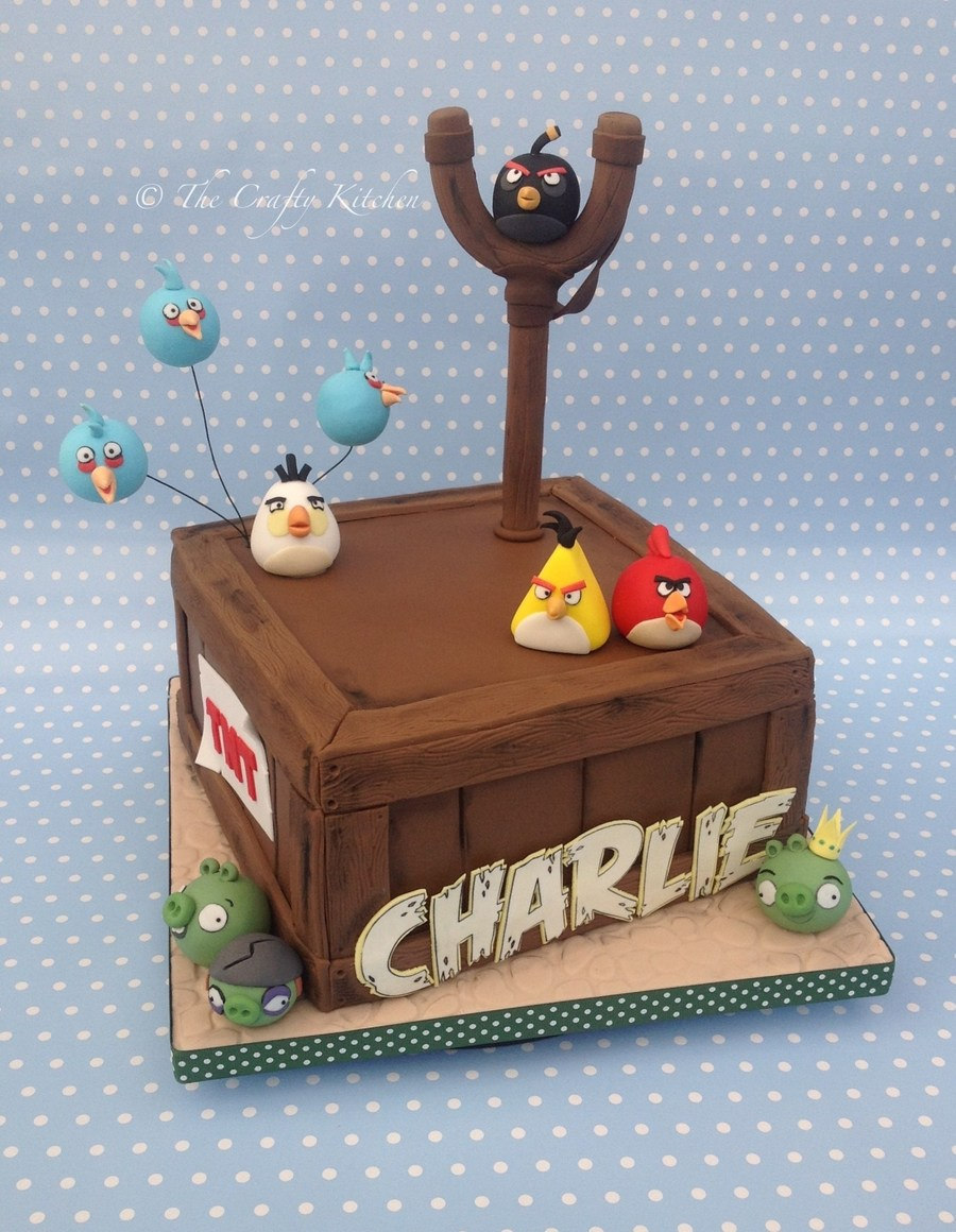 Angry Birds. on Cake Central