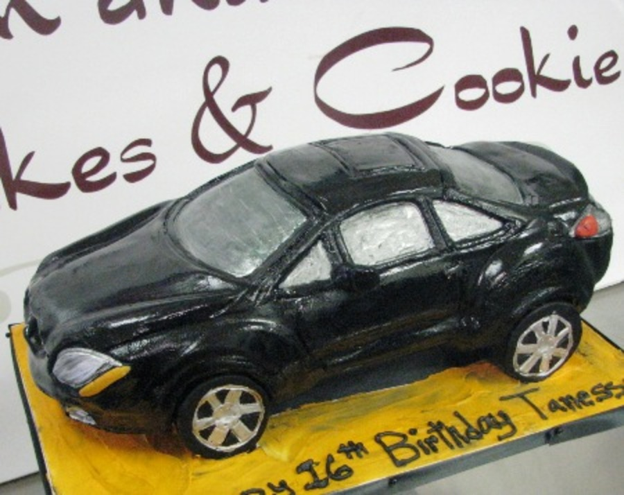 Mitsubishi Eclipse Car Cake on Cake Central