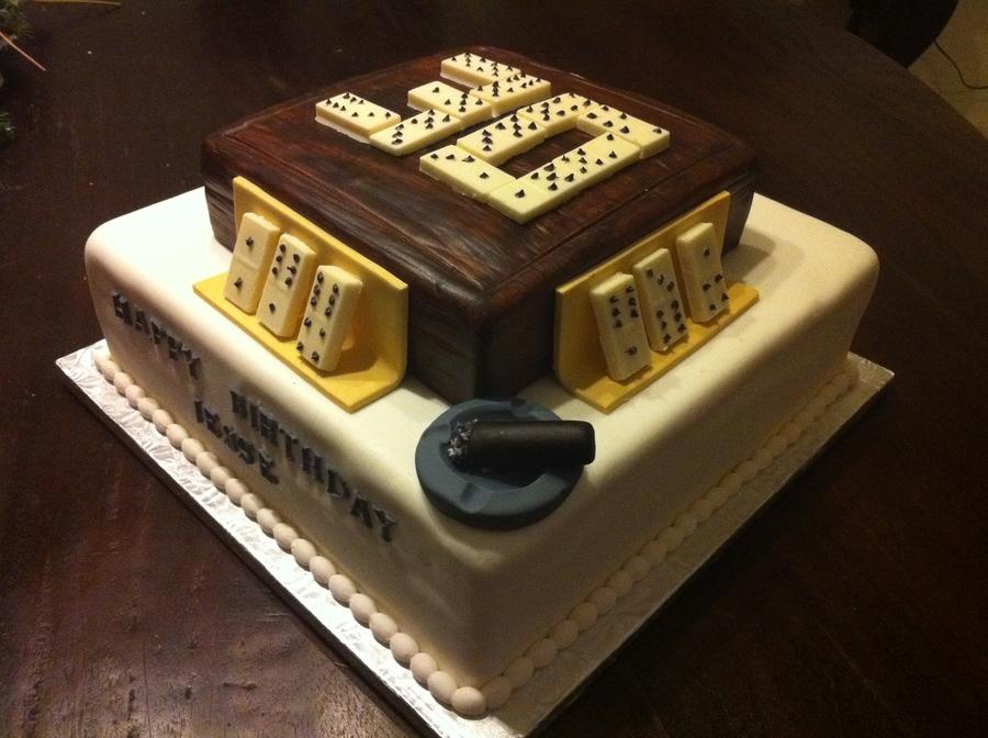 Dominoes Cake CakeCentralcom