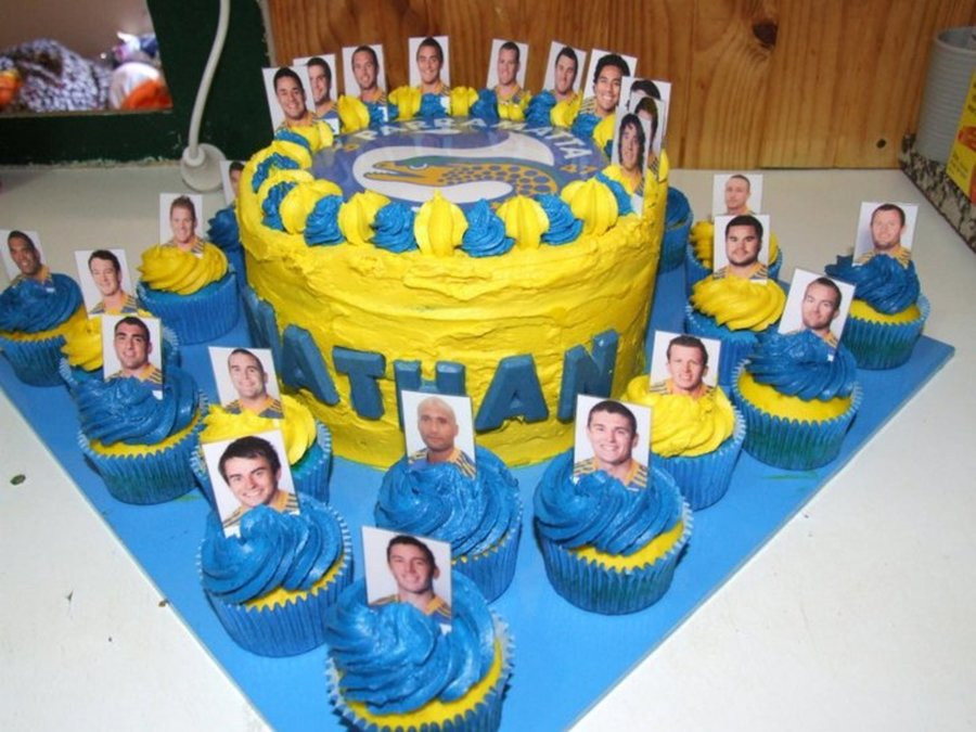 Parramatta Eels on Cake Central