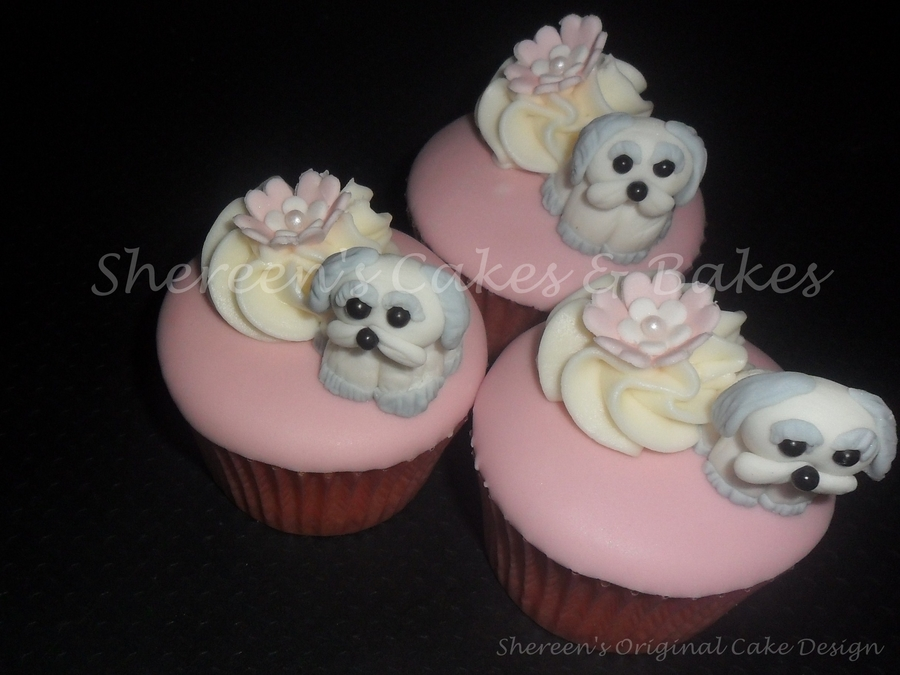 Little Puppy Cupcakes Cakecentral Com