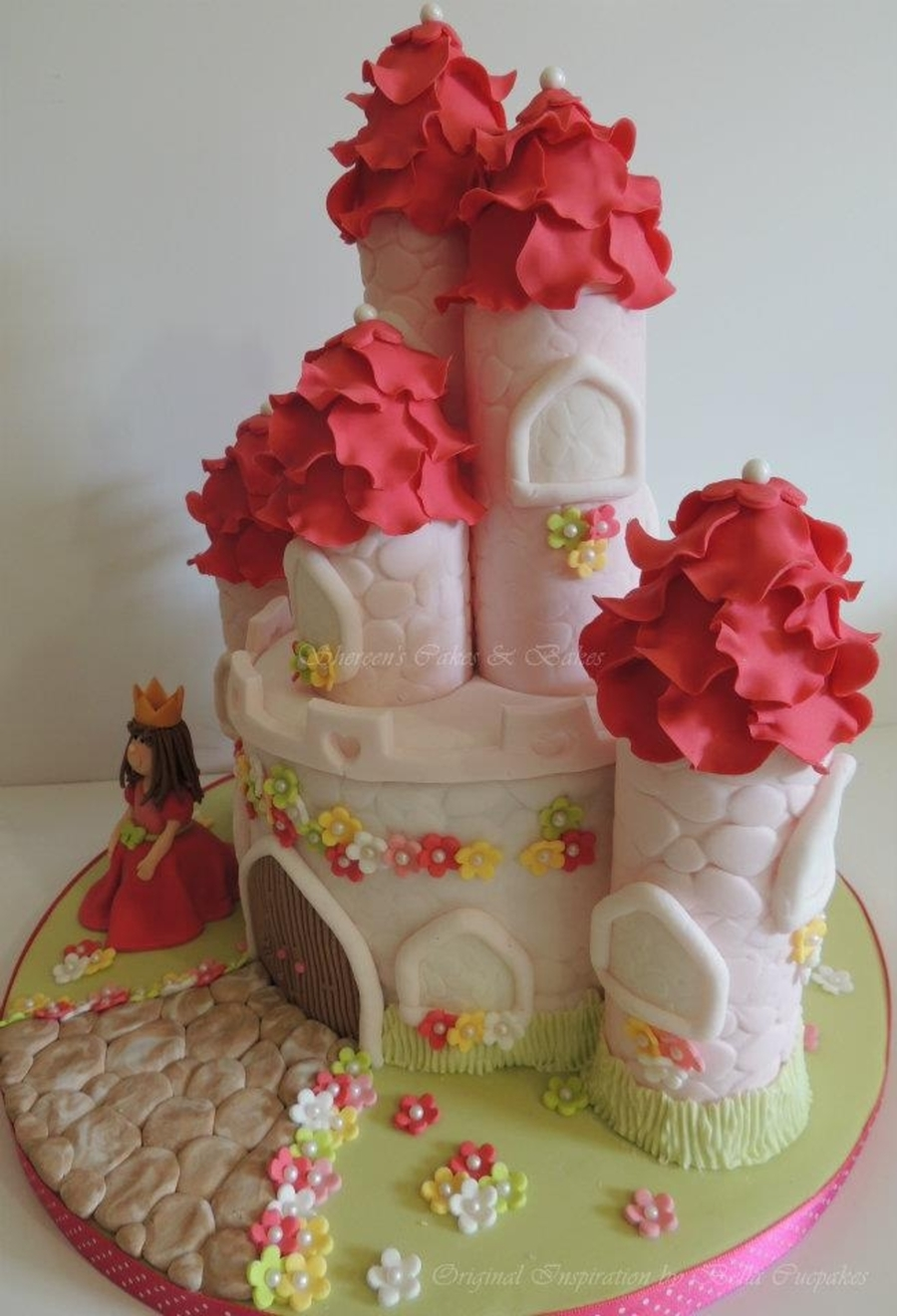 princess castle cake - cakecentral