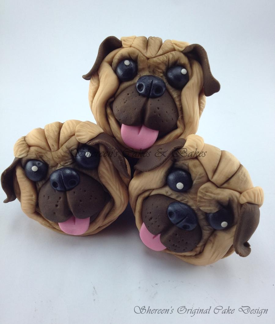 Cupcake Puppy Dog Cake