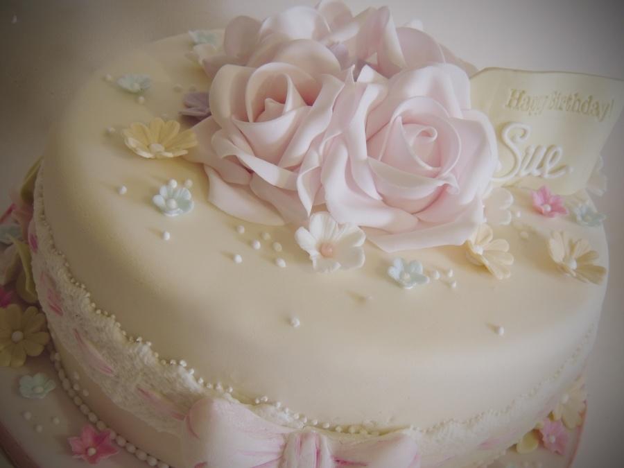 Elegant Birthday Cakes For Her