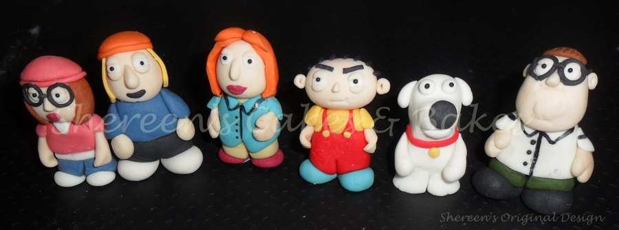Family Guy Toppers on Cake Central