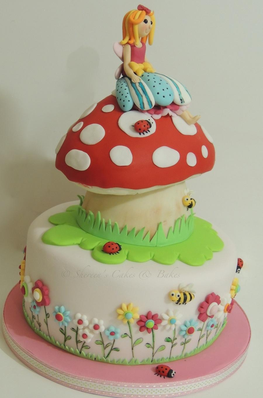Toadstool Cake Recipe