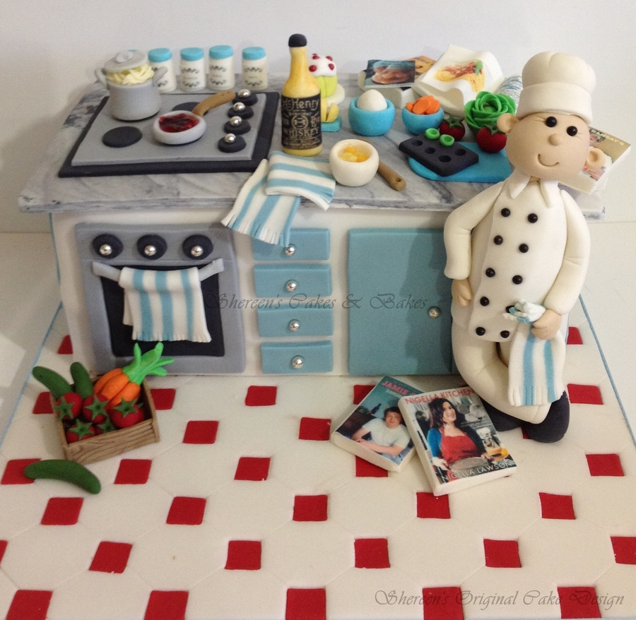 Kitchen Design Cake: CakeCentral.com