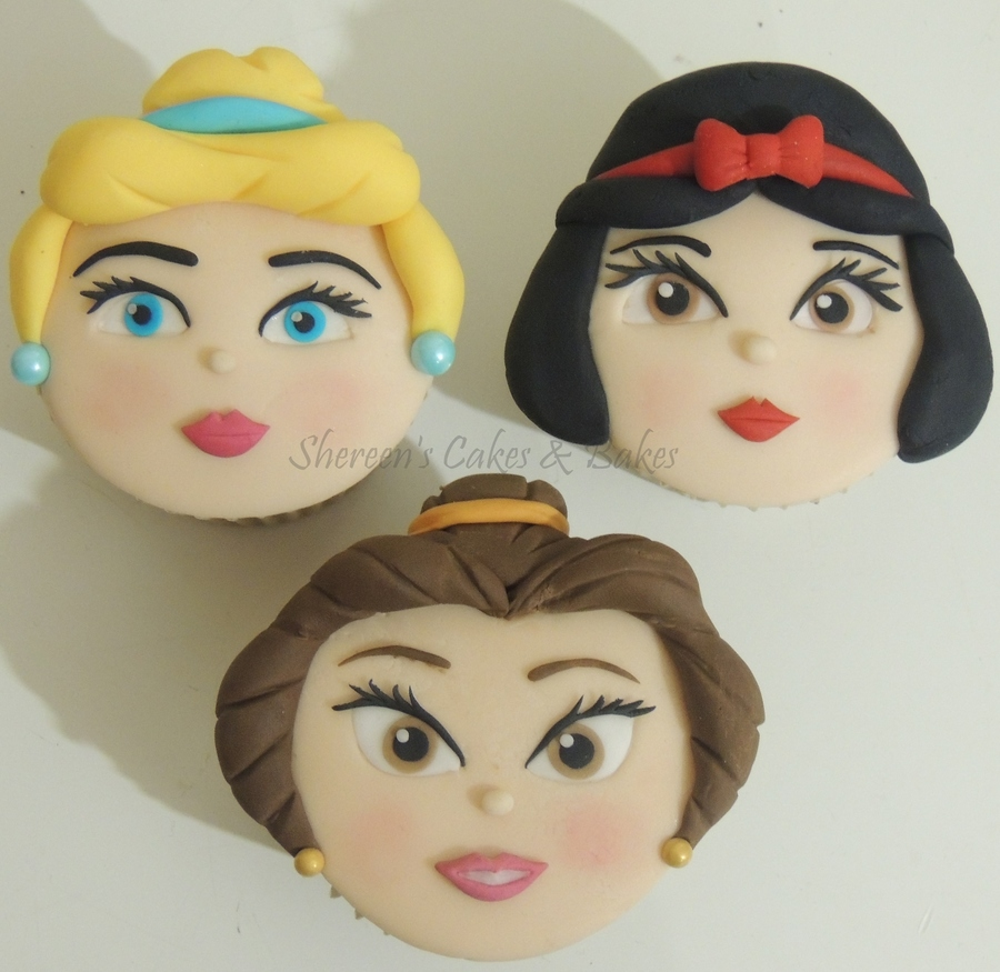 Princess Faces Cupcakes on Cake Central
