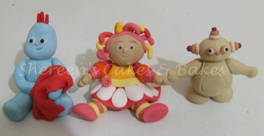 Night Garden Characters on Cake Central