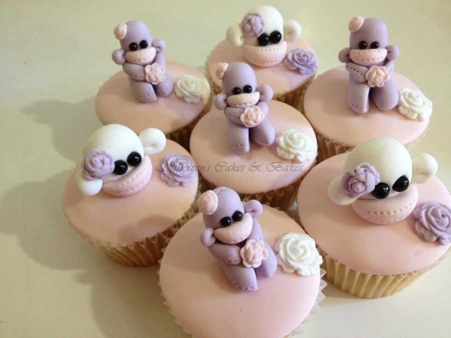 Sock Monkey Cupcakes on Cake Central