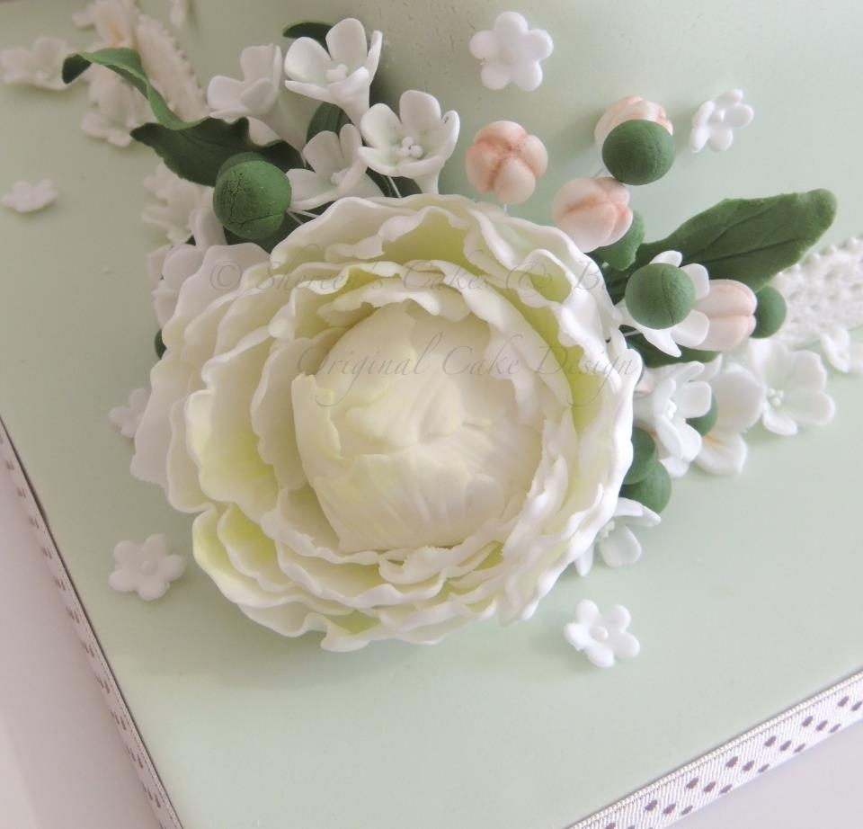 20Th Wedding Anniversary Cake - CakeCentral.com