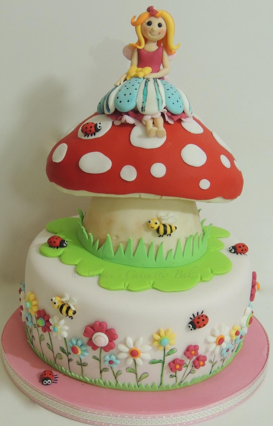 Fairy Toadstool Cake Recipe