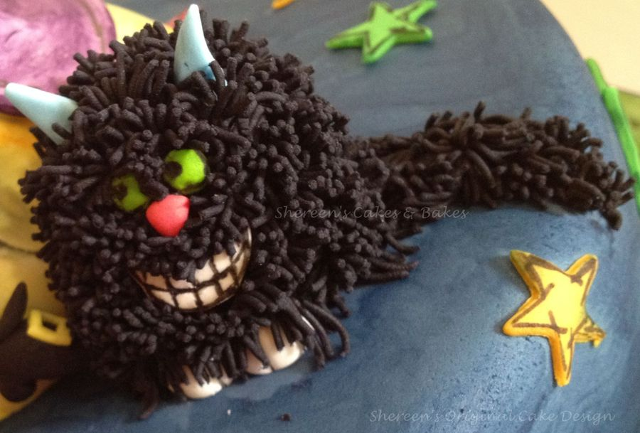 Winnie The Witch Amp Wilbur Cakecentral Com