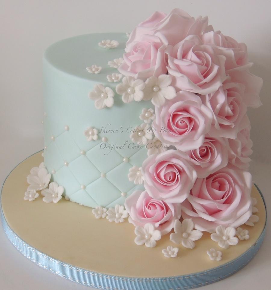 Pink Roses - CakeCentral.com