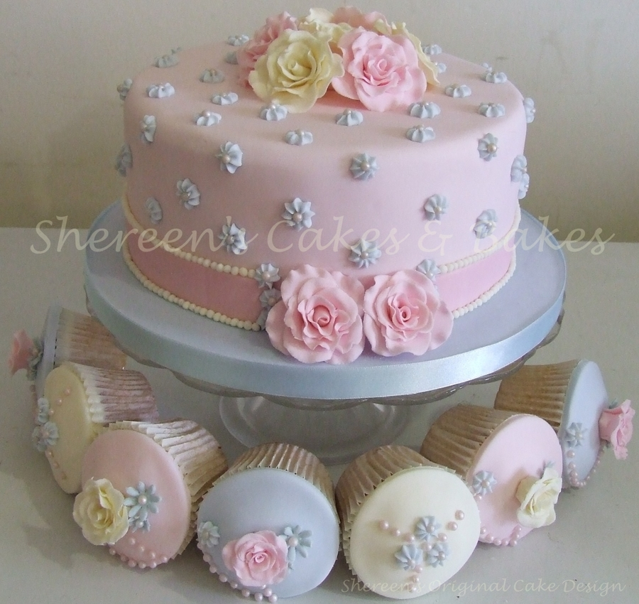 Shabby Chic Cake Amp Cupcakes Cakecentral Com