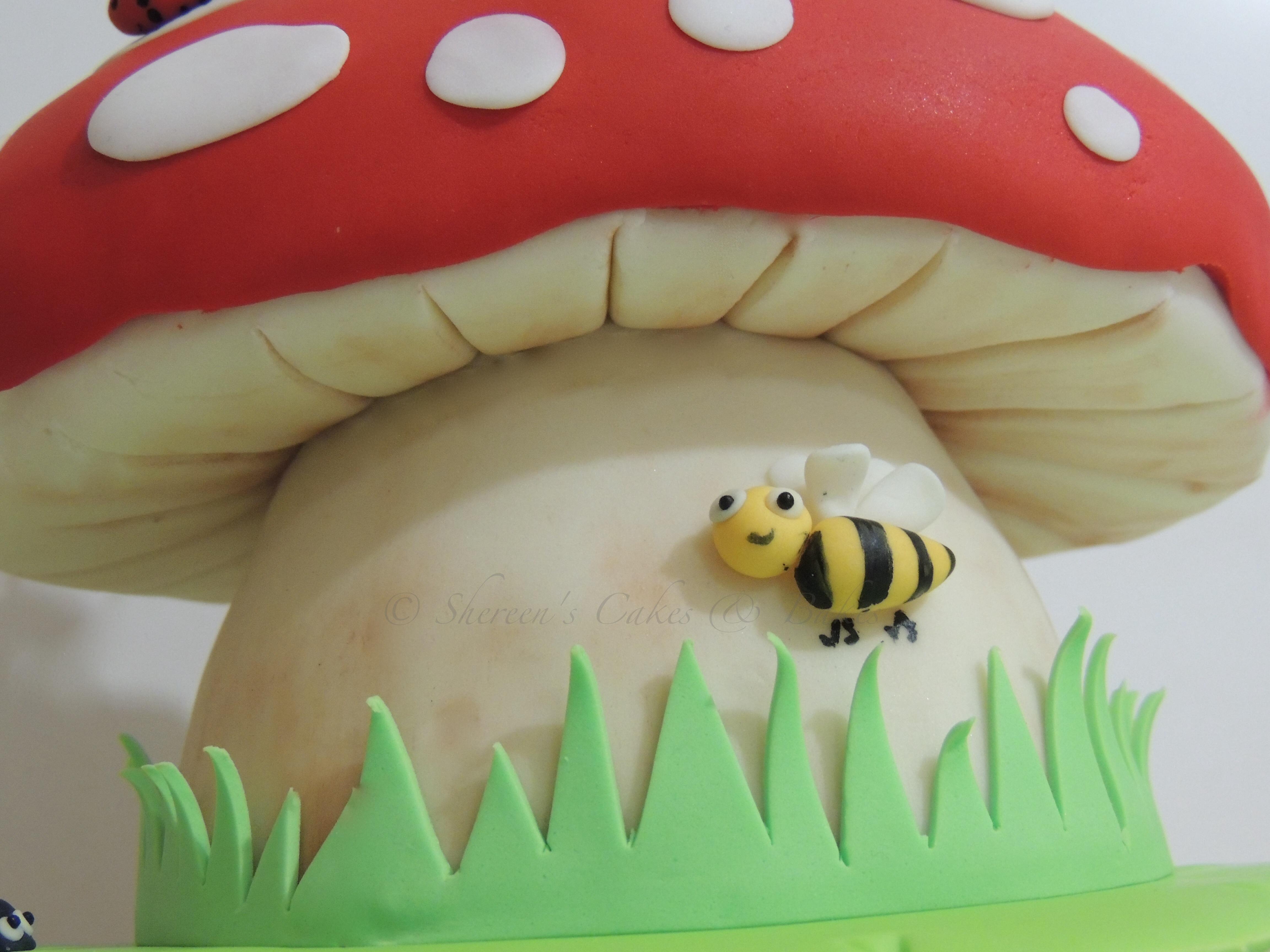 Fairy Toadstool Cake Cakecentral Com