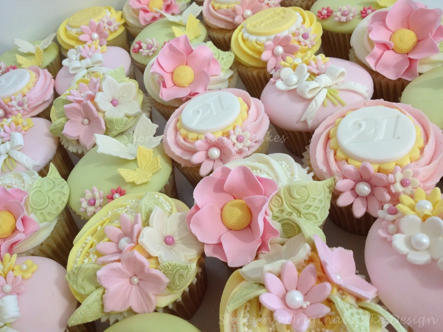 Girly Cupcakes Cakecentral Com