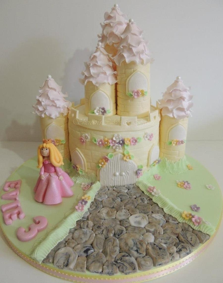 Castle Cake For Birthday