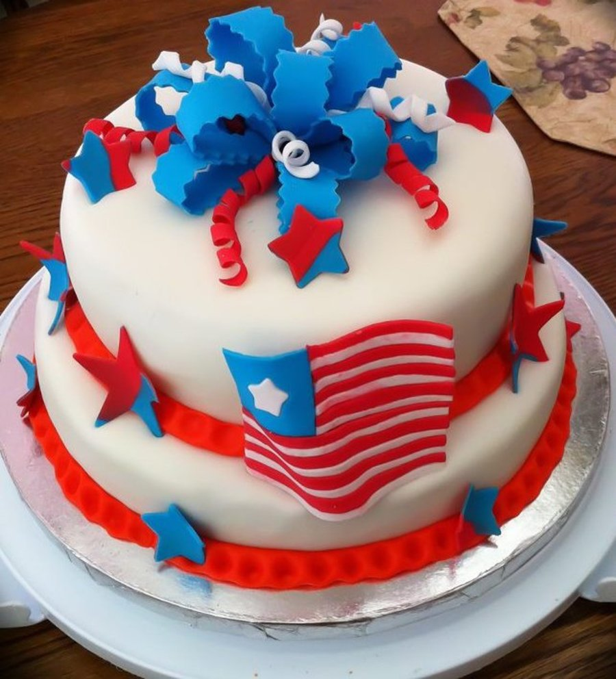 Fourth Oh July Cake on Cake Central