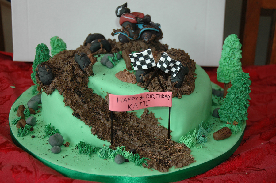 Quad Bike Cake on Cake Central