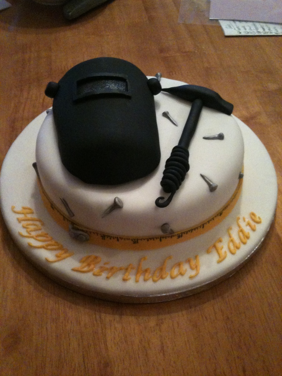 How To Make A Welder Cake