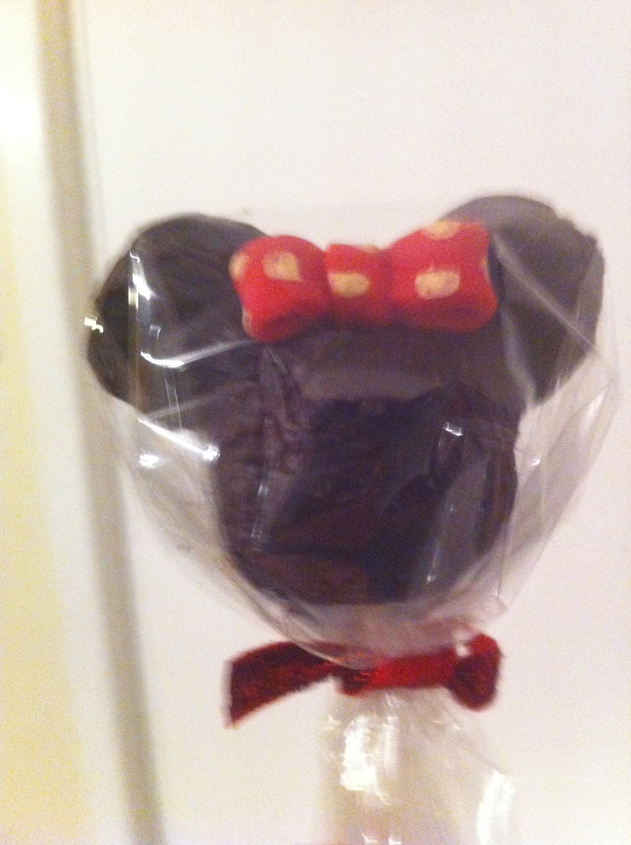 Minnie mouse cake pops tutorial