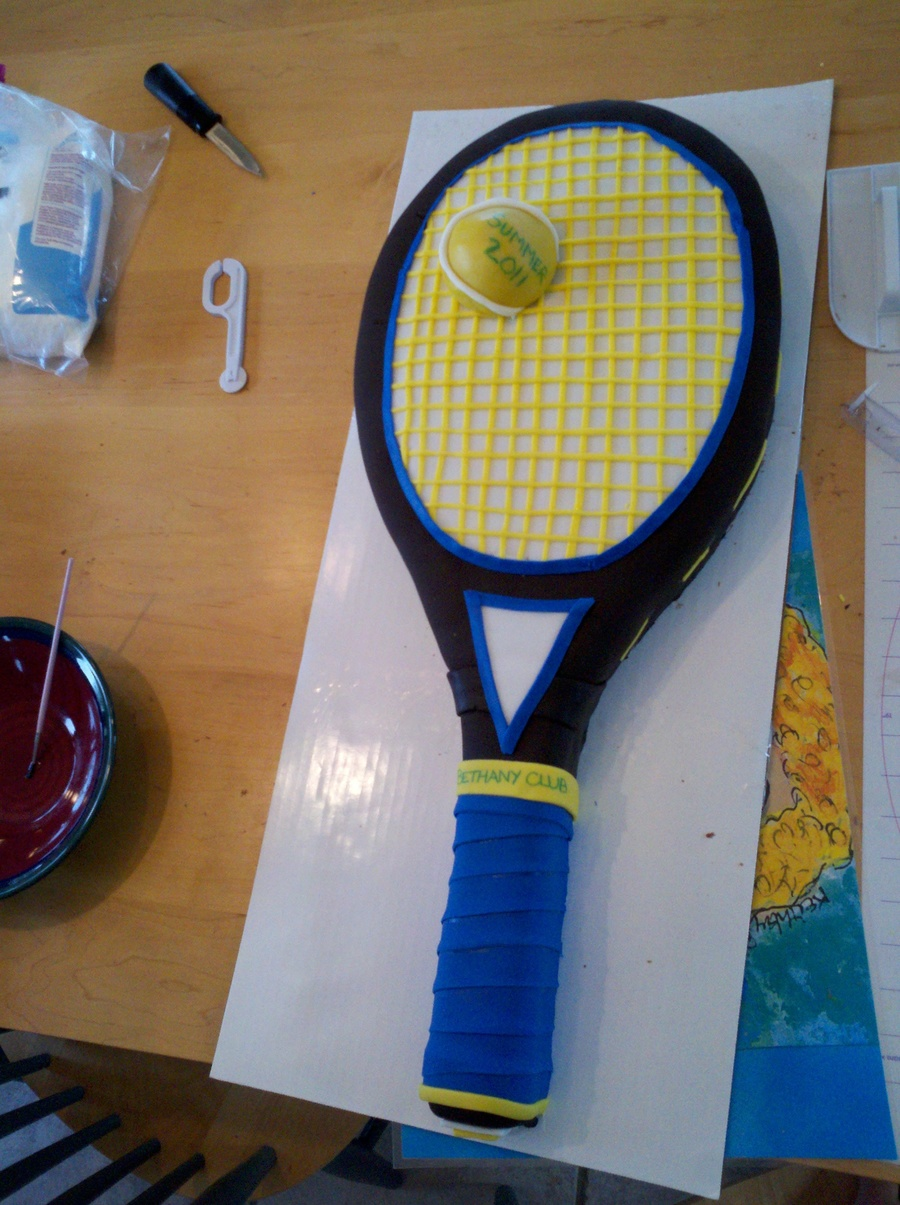 Tennis Anyone Cakecentral Com