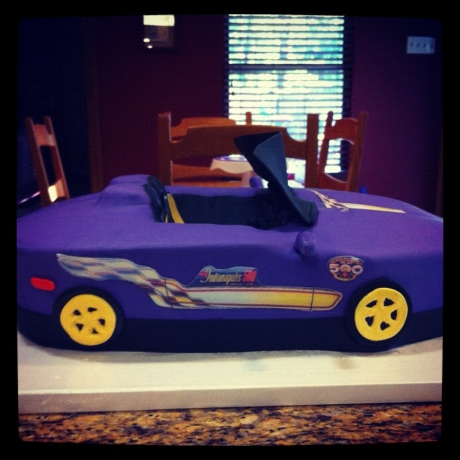 1998 Indy Pace Care on Cake Central