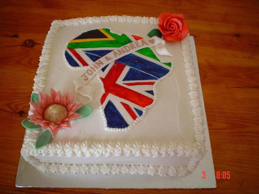Africa Wedding Cake on Cake Central