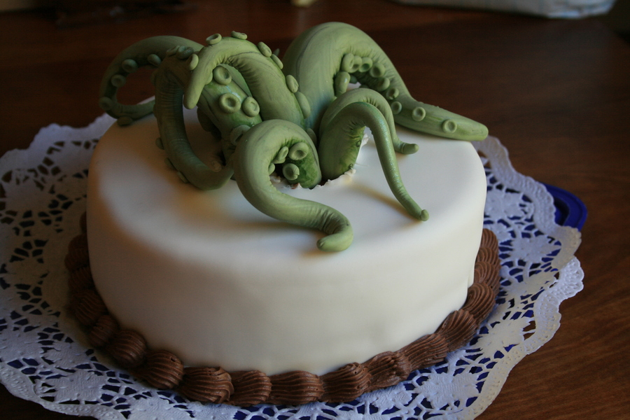 Ie Ie Cthulhu Fhtagn!  on Cake Central