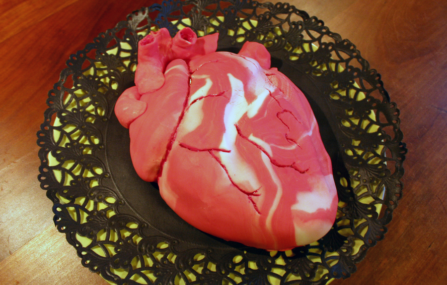 My Husband Gave Me His Heart on Cake Central