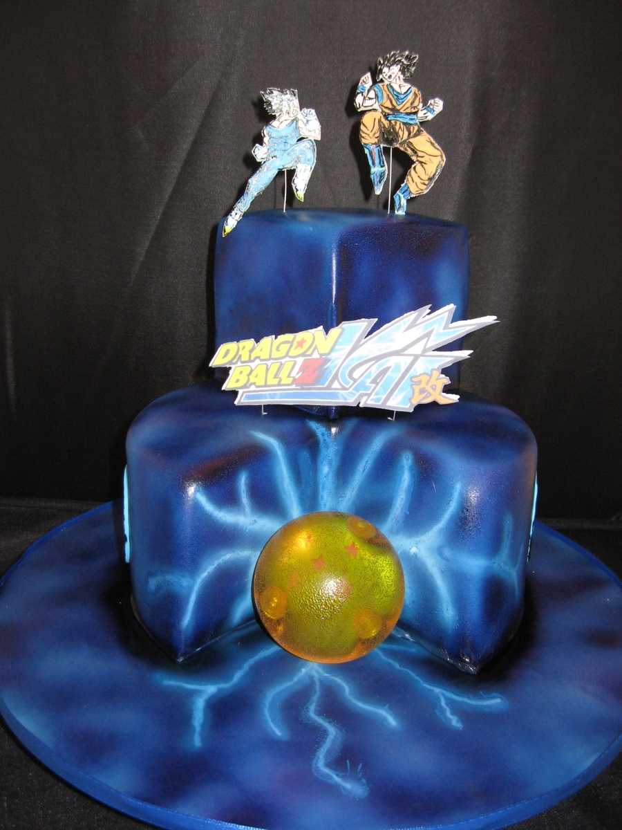 Cake Arch Balloon Design : Dragon Ball - CakeCentral.com